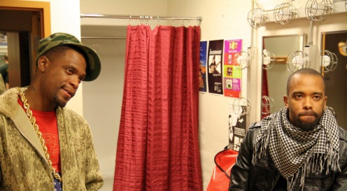 dead prez backstage